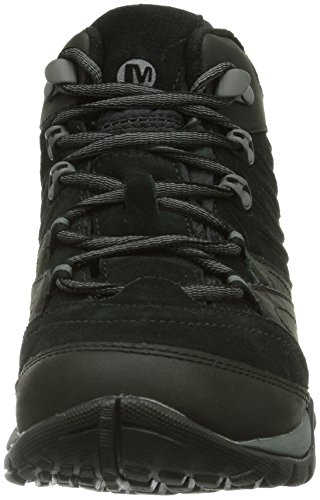Chaussures Merrell femme randonnée Flurry haute Noir de Wtpf Black Azura Mid tige zIWgfqIU