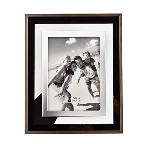 - UMICAL Real Glass Picture Frame 5x7 Photo Frames - Choose PS Polymer and Glass Material Environmental Protection for Table Top Stand Display