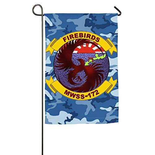 Marine Wing Support Squadron 172 Yard Flag Patio Garden Flags Outdoor Banner 18x27 Inches