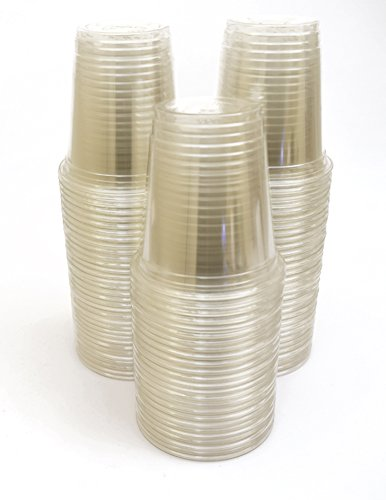 Green Direct Party Cups / 9 oz Plastic Party Cups Pack of 100