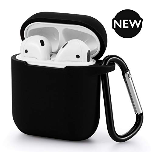 AirPods Case - BLUEWIND 2019 Newest 360° Protective Silicone AirPod Case Cover Compatiable with Apple AirPods 1st/2nd (Apple Earbud Case)