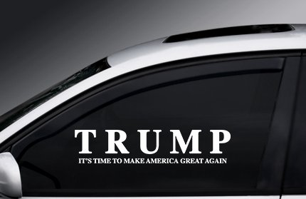 Make America Great Again Trump Sticker President Decal Window Election 2016 (Hilarious Window Decals compare prices)
