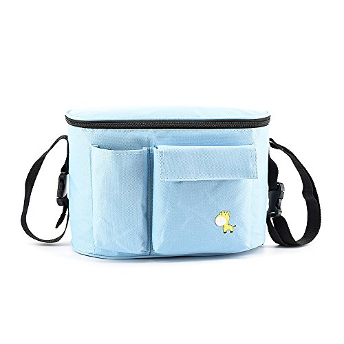 Baby Strollers Bag Hanging Organizer Mummy Backpack Nappy Bottle Thermal Bag by Tong Yue