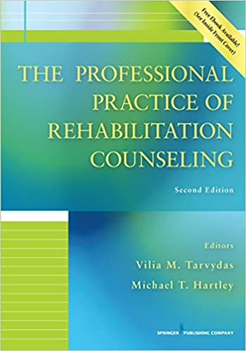 Amazon The Professional Practice Of Rehabilitation Counseling