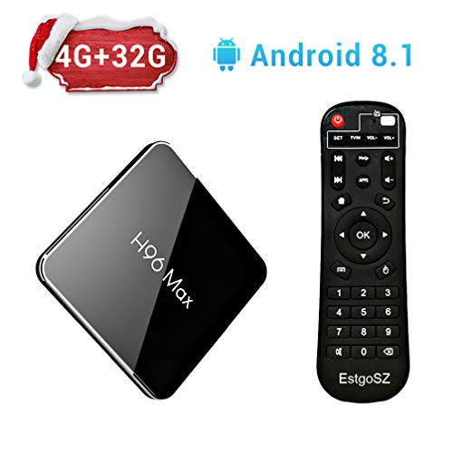 H96 Max X2 Android 8.1 TV Box 4GB DDR4 Ram 32GB ROM for sale  Delivered anywhere in USA