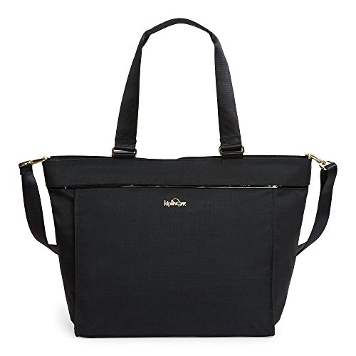 New Shopper Tote - Kipling Women's New Shopper Large Tote One Size Black Crosshatch