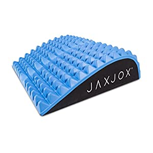 JAXJOX Back & Neck Yoga Therapy Lumbar Mat, Blue