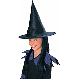Rubie's Child's Witch Hat with Black Hair