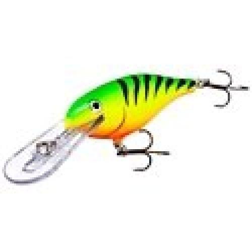 Rapala Shad Rap 7 Fishing Lure, Orange Tiger UV, 2-3/4-Inch