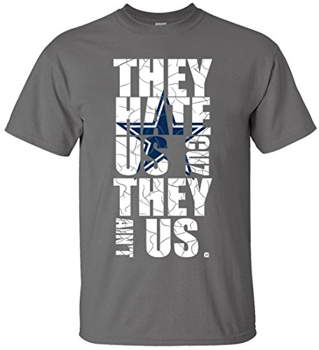 Nzone They Hate Us Cuz They Aint Us Mens T Shirt  3Xl  Gray