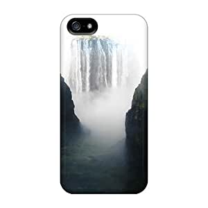 Fashionable TIcVJGG2049TownG Iphone 5/5s Case Cover For Waterfalls Free The Smoke That Thunders Protective Case by lolosakes
