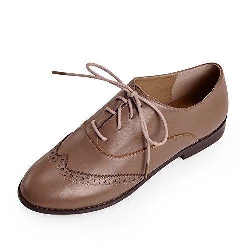 Zapatos Oxford de moda de primavera/Zapatos de mujer/Parte inferior plana redonda correa viento mujeres zapatos de Inglaterra D