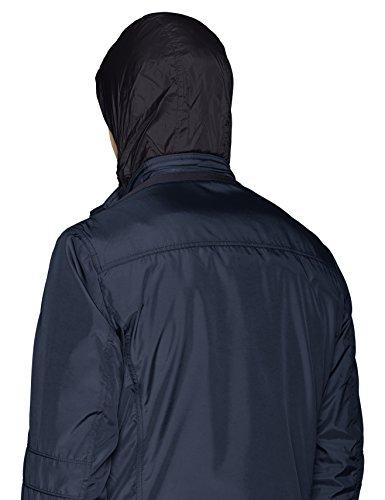 Homme dark Geox F4300 Navy Blau Jacket Man Manteau tw7P4