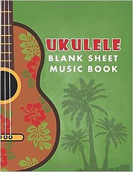 Amazon com: Ukulele Blank Sheet Music Book (Songwriting