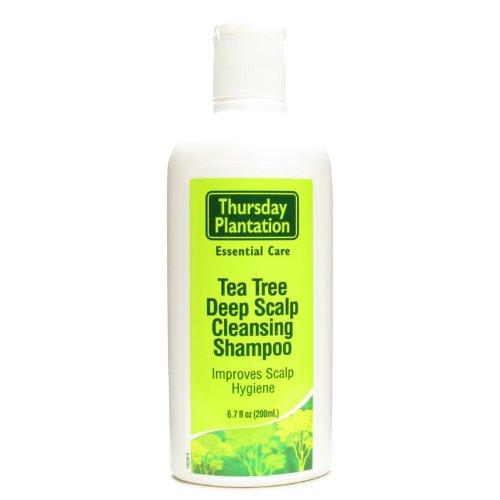 (SHAMPOO-DEEP SCALP (200mL) Tea Tree Brand: Thursday Plantation)