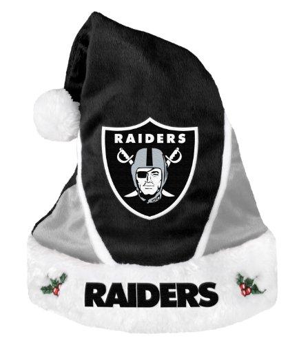 Oakland Raiders 2014 Colorblock Santa Hat ()