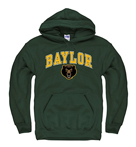 - Campus Colors Baylor Bears Adult Arch & Logo Gameday Hooded Sweatshirt - Green, XX-Large