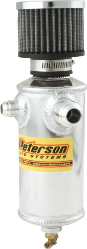 Peterson Fluid Systems 08-0410 Remote Breather Can with 2 Fittings by Peterson Fluid Systems (Image #1)