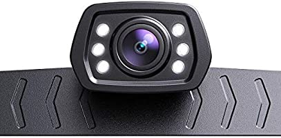 ZEROXCLUB 2021 HD Backup Camera for Car Pickup Trucks SUVs Vans RVs License Plate Rearview Reversing Camera Night Vision...