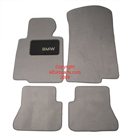 Amazon.com: BMW Genuine Gray Floor Mats for E46 - 3 SERIES ALL MODELS CONVERTIBLE (1999 - 2006), set of Four: Automotive