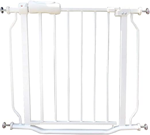 QIANDA Blanco Barrera de Seguridad Bebé Puerta de la Escalera Perrito Infantil for Escaleras, Puertas Y Pasillos Instalar En Cualquier Lugar (Size : 92-103.9cm): Amazon.es: Hogar