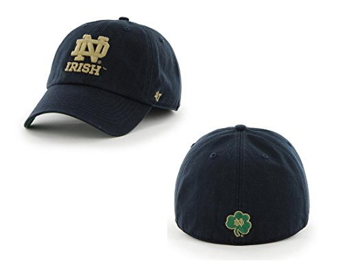 '47 NCAA Notre Dame Fighting Irish Franchise Fitted Hat, Navy, Medium