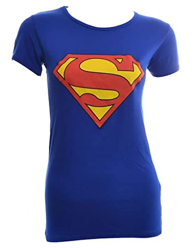 b6b158e1361 Image Unavailable. Image not available for. Color  VIP Womens Superman T  Shirt Top ...