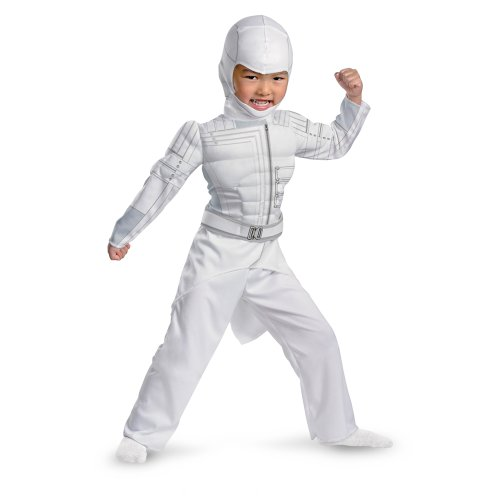 G.i Joe Retaliation Storm Shadow Toddler Muscle Costume, White, Large (Shadow Childrens Costume)
