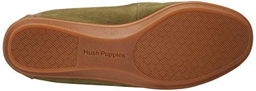 Hush Puppies Women's Endless Wink Slip-on Loafer, Grey, US Dark Olive Nubuck