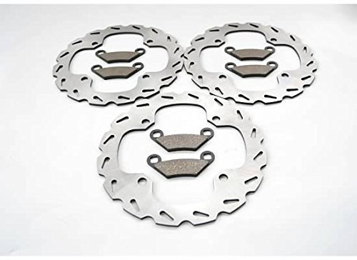 Polaris 850 Sportsman Touring EPS Front and Rear Sport Brake Rotors and Brake Pads