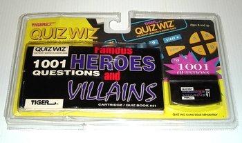 Quiz Wiz 1001 Questions Heros and (Wiz Headlamp)