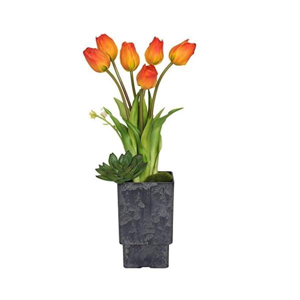 Vickerman F12246 Orange Tulip Everyday Floral