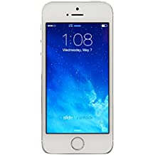 Apple iPhone 5S 16GB GSM Unlocked, Silver (Certified Refurbished)