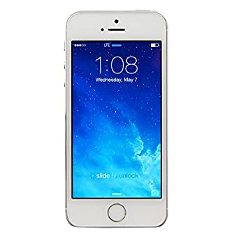 Apple iPhone 5S 16 GB Unlocked, Silver (Certified Refurbished)