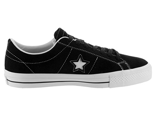 Black Converse Star One Men's Suede Sneakers BpxBwSRXnq