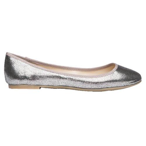 Glitzer Damen LiKing 08 Ballerinas 001 Silber xZPIOP