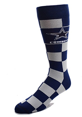 Dallas Cowboys Mens Socks - Dallas Cowboys Jumbo Check Socks