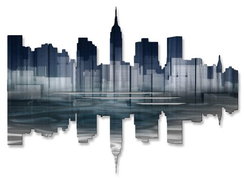 New York City Reflection II Wall Art from All My Walls