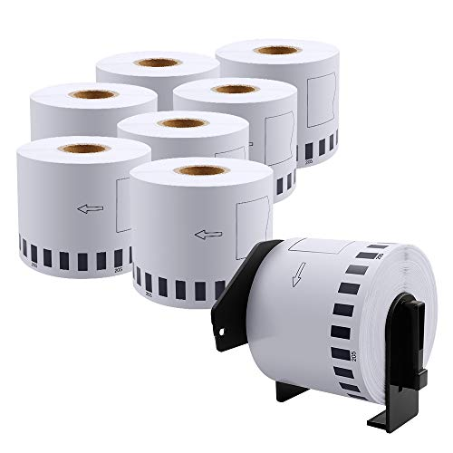 DK-2205 Compatible Brother Continuous Paper Labels Roll, Cut-to-Length Label, 2.4