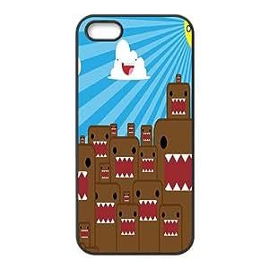 WAGT Domo Kun Case Cover For iPhone 5S Case hjbrhga1544