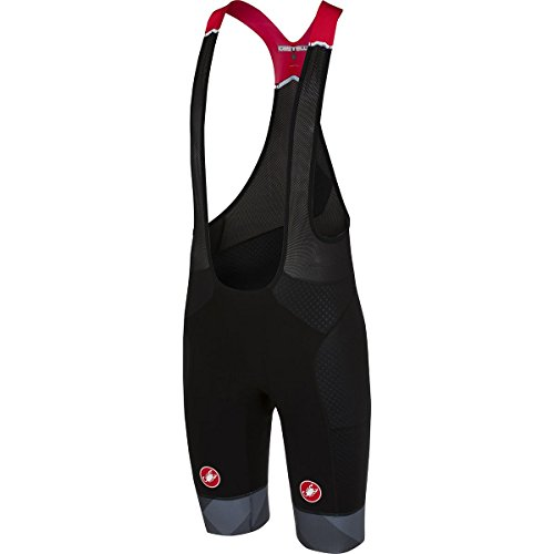 Castelli Free Aero Race Kit Version Bib Short - Men's Black/Anthracite, XL