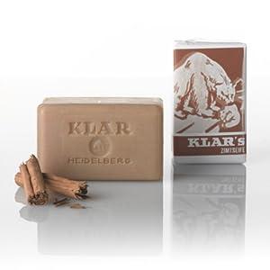 Klar Cinnamon Soap by Klar Seifen, 3.5 Ounce (100 g)