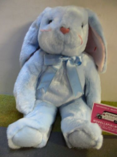 Beanie Buddies Flippity the Blue Bunny Rabbit - Ty (Blue Bunny Plush Rabbit)