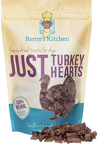 Remy's Kitchen Just Turkey Hearts Freeze Dried Treats