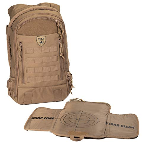 - Tactical Baby Gear Daypack 3.0 Tactical Diaper Bag Backpack and Changing Mat (Coyote Brown)