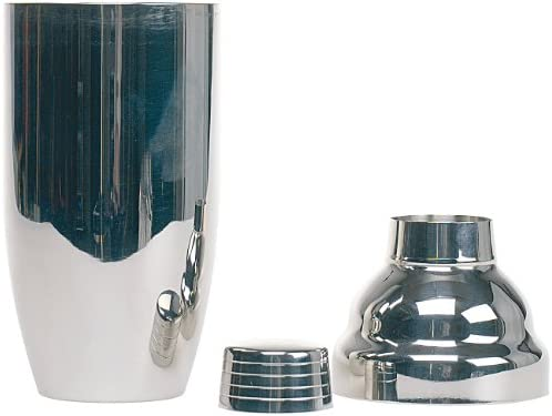 PEARL Cocktail Mixer: Cocktail-Shaker 0,7l (verchromter Edelstahl) (Cocktailshakers)