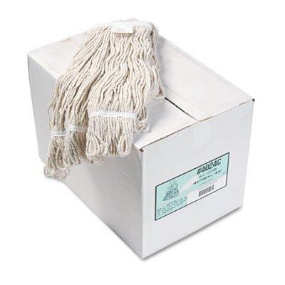 Boardwalk BWK4024CCT Pro Loop Web/Tailband Wet Mop Head, Cotton (Case of 12) (Finishing Mop Head)