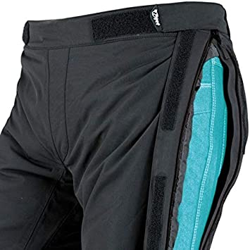Jet Motorradhose Textilhose Wasserdicht Winddicht Mit Protektoren Zipper , Schwarz 8XL 66 Kurz//Weite 50 L/änge 30