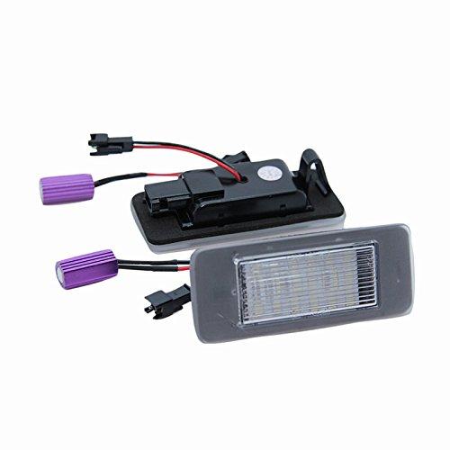 Wildeal 2 St/ück//Set Auto Zubeh/ör LED Kennzeichenbeleuchtung Lampe f/ür Opel Astra J Sports Tourer