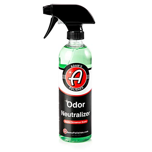 Adam's Odor Neutralizer – Specially Formulated Air Freshener That Eliminates Harmful Odors from Car Interior Accessories, Leather Seats, Carpet Upholstery, Pet Odors (Apple Cinnamon Scent)